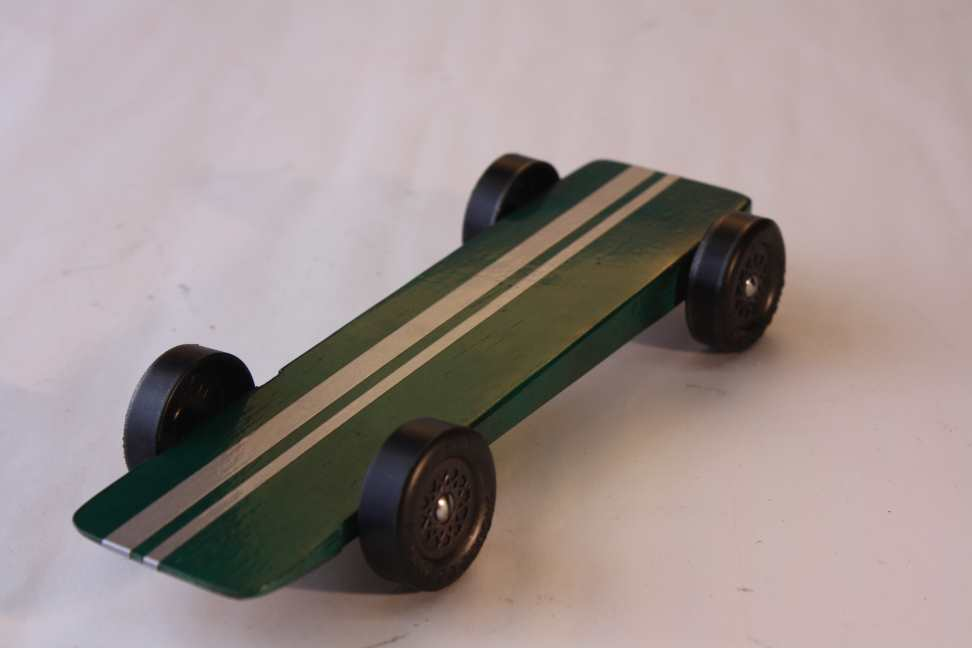 Pinewood Derby Super Wedge 1.180\