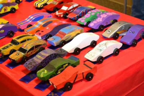 Awana Club Grand PRIX Pinewood derby Cars