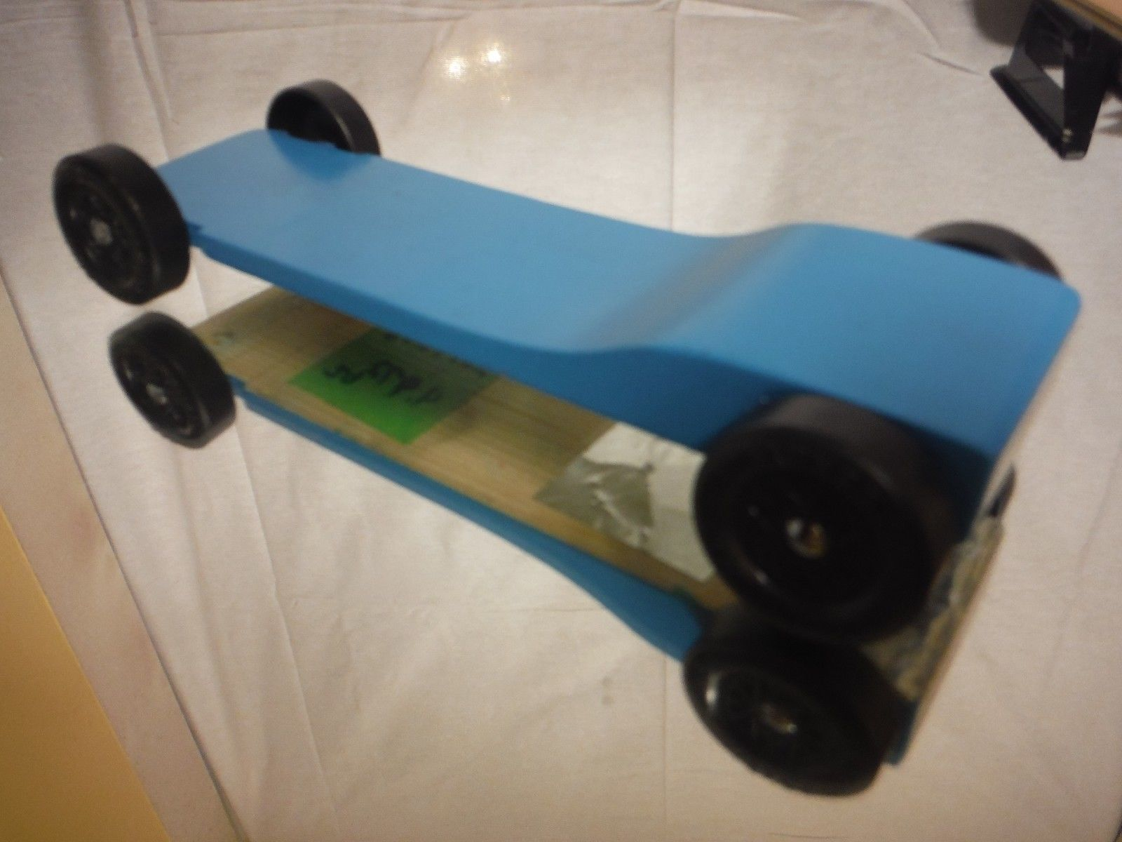 Upgrade Series Physics Pinewood Derby Car