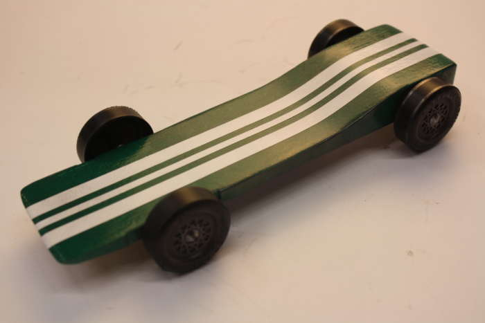 pinewood derby physics lecture car