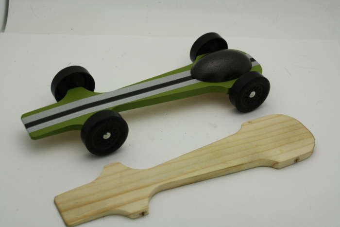 "Talon Pinewood Derby Car 1.180"" Wheel"