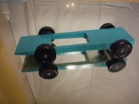 Upgrade Series Razor Wedge Pinewood Derby Car