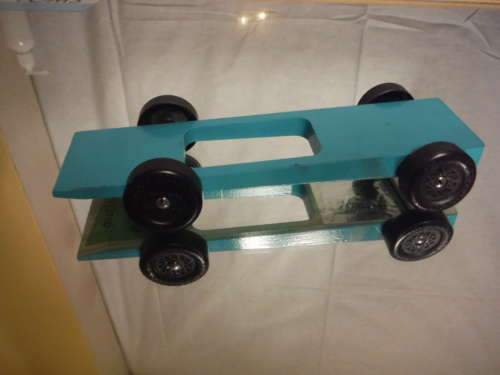 Fast Complete Ready to Race BSA Wedge Pinewood Derby Car