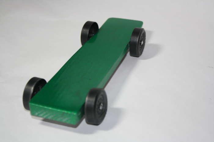 Upgrade Series Wedge Pinewood Derby Car